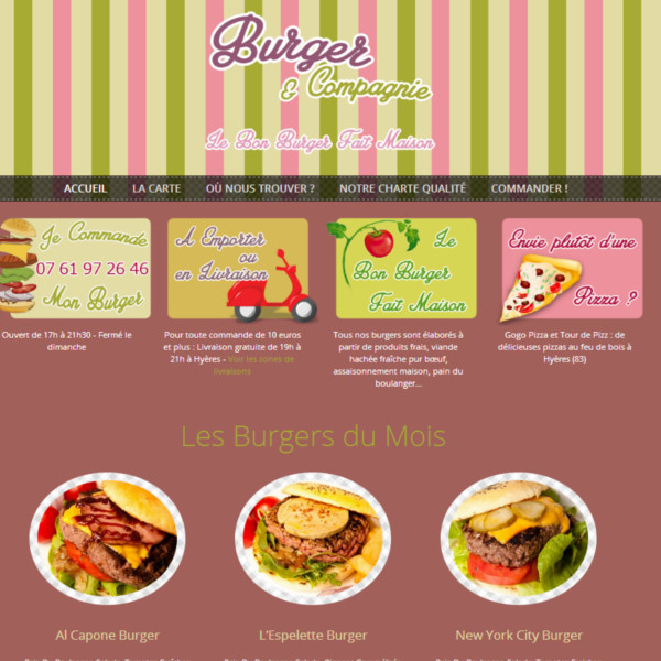 Camion Burger Hyères