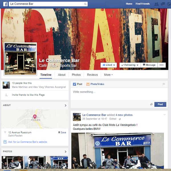 Création de page Facebook