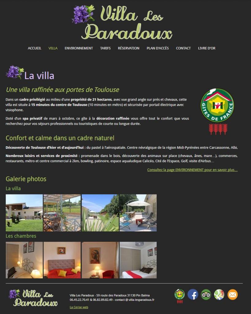 Création de site internet pour location de vacances
