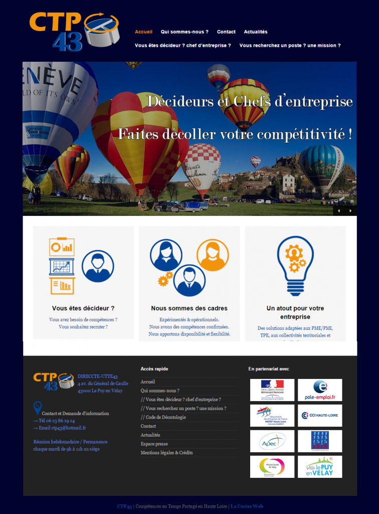 Site internet pour association