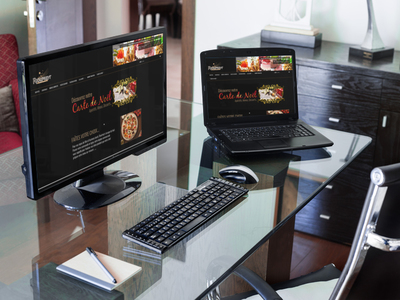 création site web pour traiteur en auvergne