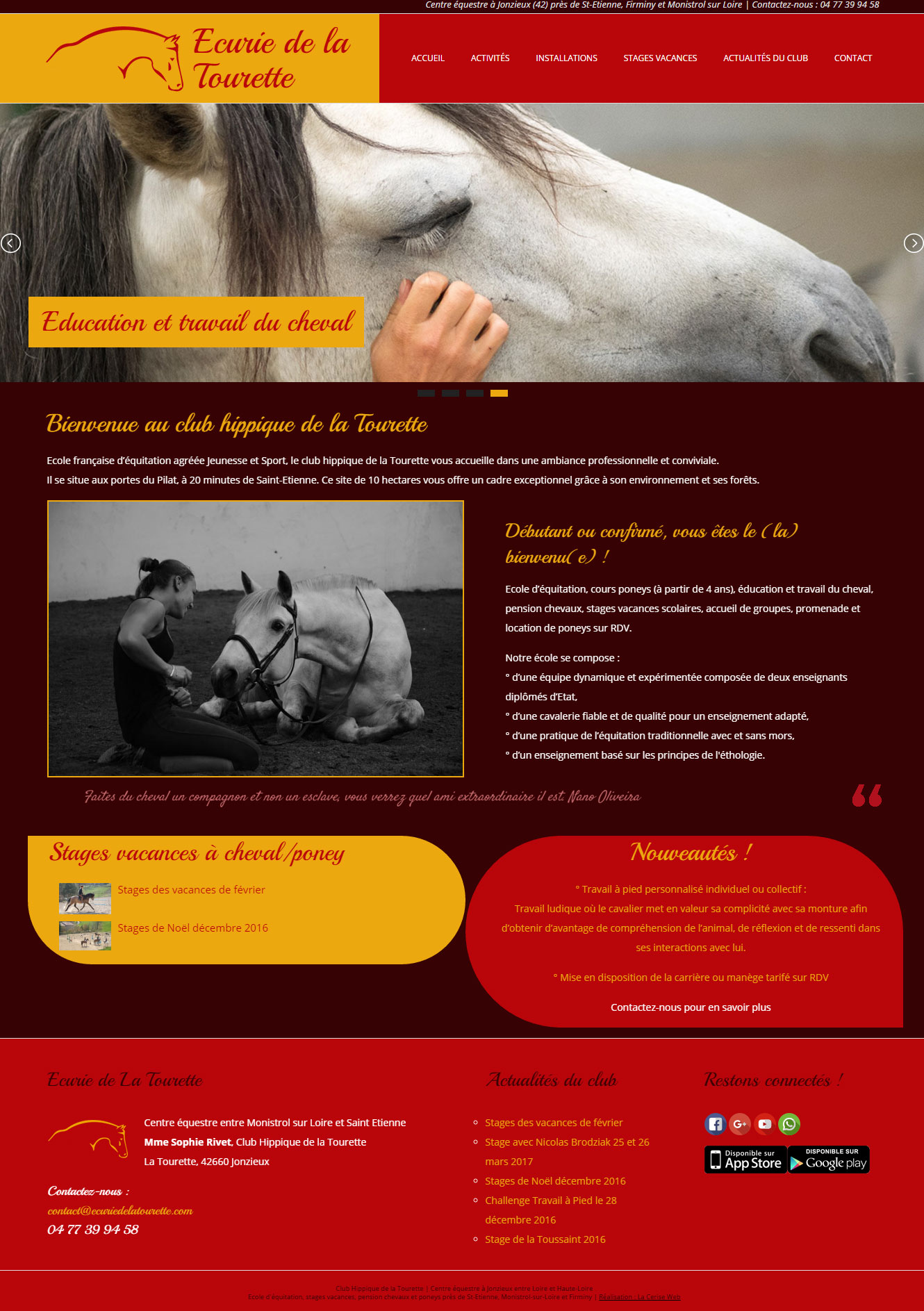 agence de com le puy 43 création de site internet haute loire