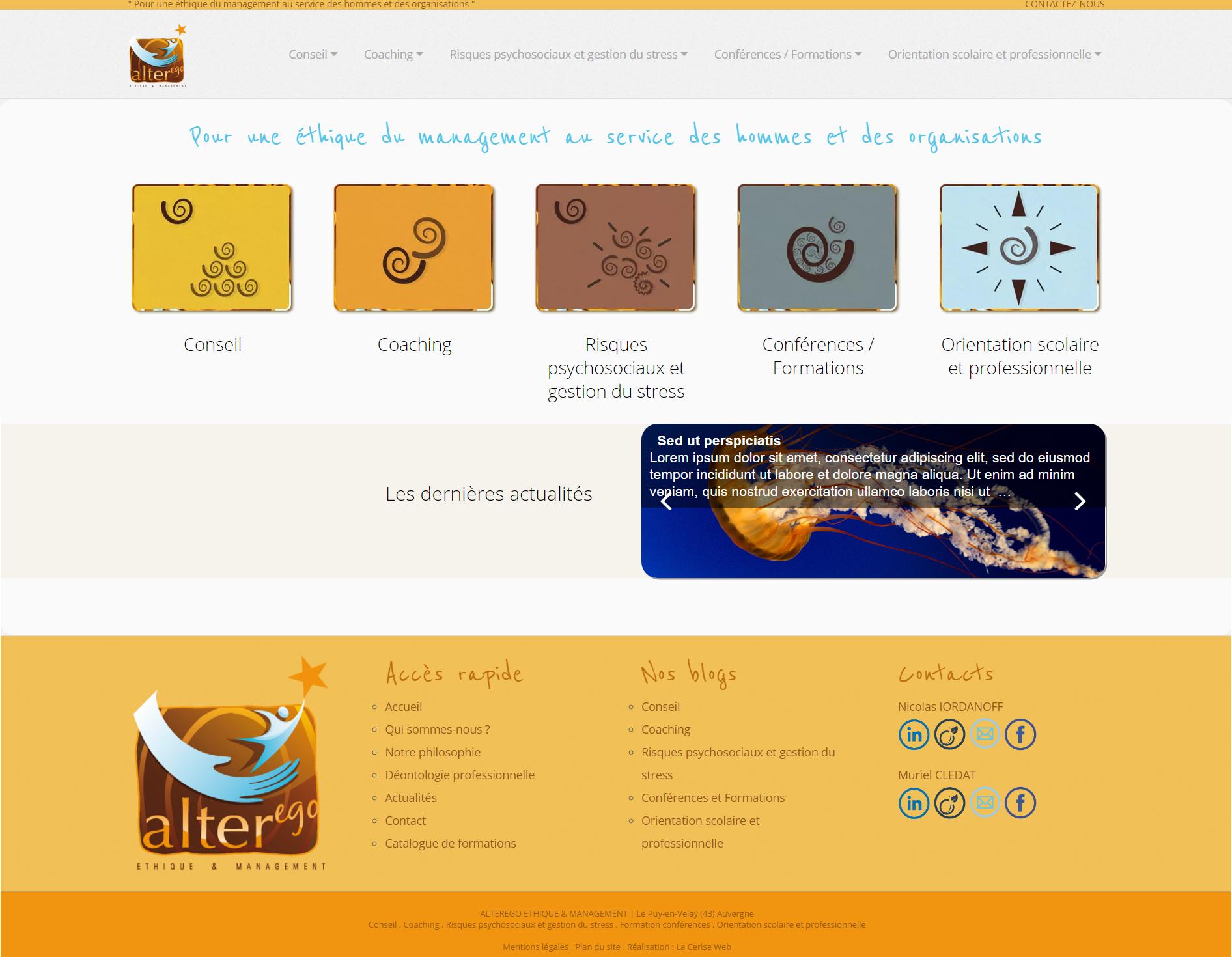 création de site web au puy en velay 43