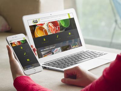 Atomik Publicité : site web
