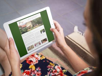 création site internet pour gite en auvergne agence de communication puy de dome