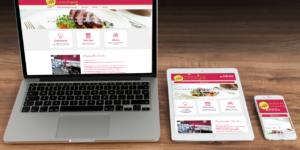 site web pour traiteur en haute loire